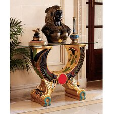 <strong>Design Toscano</strong> Egyptian Wings of Horus Grand Altar Console Table