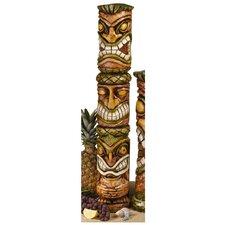 Aloha Hawaii Tiki Moai Haku Pani Statue
