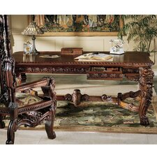 <strong>Design Toscano</strong> The Lord Raffles Lion Console Table