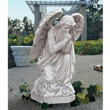 The Praying Basilica Angel Statue