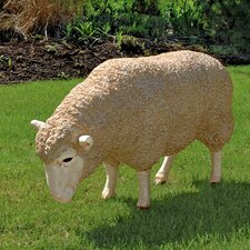 <strong>Design Toscano</strong> Merino Ewe Life Size Sheep Statue (Set of 2)
