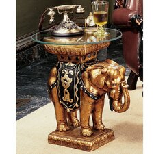 <strong>Design Toscano</strong> Maharajah Elephant Sculptural End Table