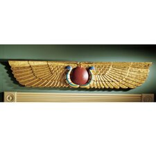 <strong>Design Toscano</strong> Egyptian Temple Sculptural Pediment Wall Décor
