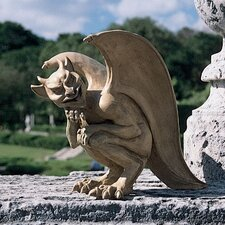 Legend of The Cambridge Hopping Gargoyle Statue