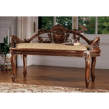 Verona Filigree Mahogany Bench