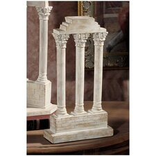 Roman Forum Temple of Castor and Pollux Straight Column Figurine