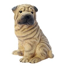 <strong>Design Toscano</strong> Shar-Pei Puppy Dog Figurine