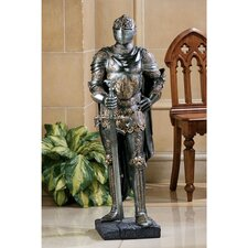 The King's Guard Sculptural Half-Scale Knight Replica in Two-Tone