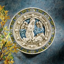 Adoration of the Child Roundel Wall Décor