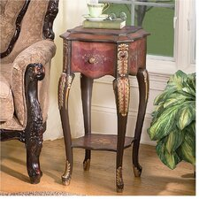 <strong>Design Toscano</strong> Floral Bouquet Chiffoniere End Table