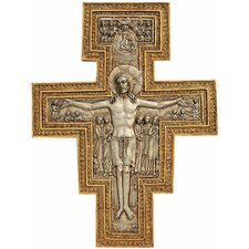 <strong>Design Toscano</strong> San Damiano Sculptural Cross Wall Décor