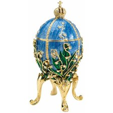 <strong>Design Toscano</strong> Empress Valentina Faberge-Style Collectible Enameled Egg