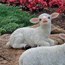 Yorkshire Sitting Lamb Statue