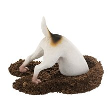 Terrence the Terrier Digging Dog Figurine