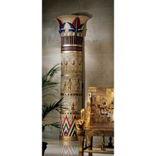 Giant Egyptian Columns of Luxor Statue
