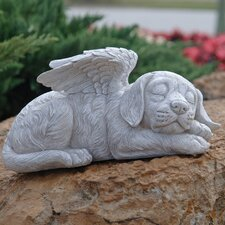 Dog Memorial Angel Pet Statue