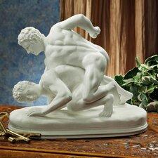 Hellenistic Greek Wrestlers Figurine