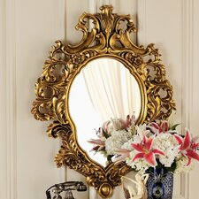 <strong>Design Toscano</strong> Madame Antoinette Salon Mirror in Faux Antique Gold