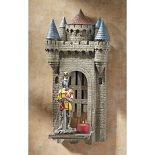 <strong>Design Toscano</strong> Castle Carcassone Drawbridge Sculptural Shelf Wall Décor