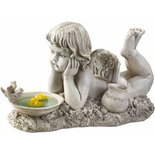 <strong>Design Toscano</strong> Summertime Reflections Cherub Statue