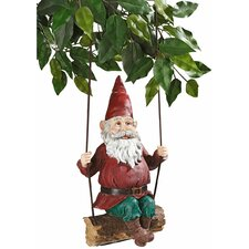 <strong>Design Toscano</strong> Sammy The Swinging Gnome Statue