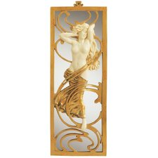 Parisian Art Nouveau  Wall Mirror