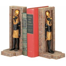 Horus Sculptural Book Ends (Set of 2)