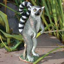 Rulon The Ring-Tailed Lemur Garden Statue