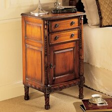 Lord Stanley English 2 Drawer Nightstand