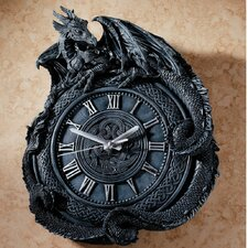 Penhurst Dragon Wall Clock