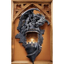 Dragon's Castle Lair Sculptural Wall Sconce