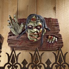Zombies at the Door Wall Sculpture