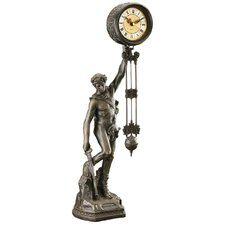 <strong>Design Toscano</strong> Be Crowned with Victory Sculptural Pendulum Clock