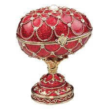 <strong>Design Toscano</strong> Royal Palace Faberge Style Enameled Eggs Gatchina