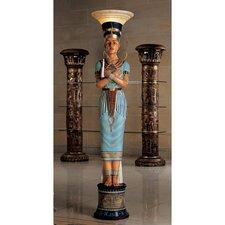 Queen Nefertiti Sculptural Floor Lamp