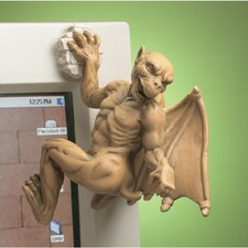<strong>Design Toscano</strong> Gaston the Gothic Gargoyle Computer Climber Figurine