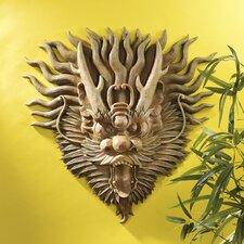 <strong>Design Toscano</strong> Tibetan Sculptural Dragon Wall Décor