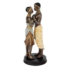 <strong>Design Toscano</strong> Body and Soul African Lovers Statue