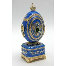 <strong>Design Toscano</strong> Byzantine Eagle Secret Treasure Enameled Egg