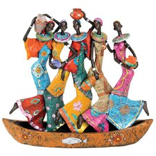 <strong>Design Toscano</strong> The Maiden Water Carriers of Ghana Figurine