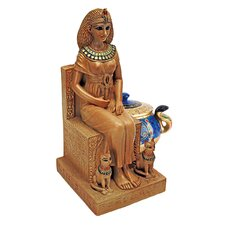 Cleopatra on the Throne of Egypt Figurine
