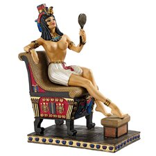 Pharaoh's Queen on the Throne Figurine