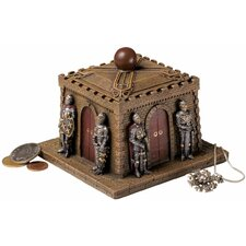 <strong>Design Toscano</strong> Knights' Castle Box Desk Accessory