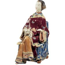 Lady Chan Porcelain Sculpture