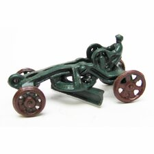 <strong>Design Toscano</strong> Road Grader Replica Farm Toy Tractor Figurine