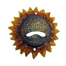 <strong>Design Toscano</strong> Sunny Sunflower Cast Iron Bottle Opener