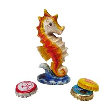 Riding The Waves Seahorse Bottle Opener