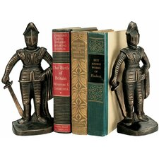 Medieval Knight Iron Book Ends (Set of 2)
