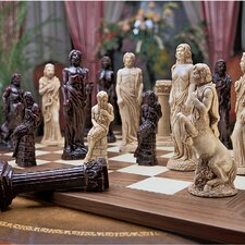 <strong>Design Toscano</strong> Gods of Greek Mythology Chess Pieces