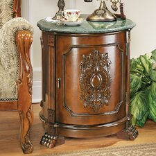 Tambour Manor End Table